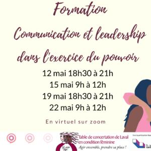 Formation Communication et leadership